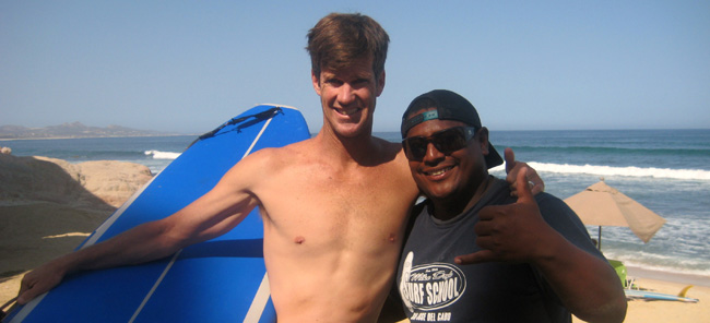 Miguel Rojas Cabo Surf Instructor